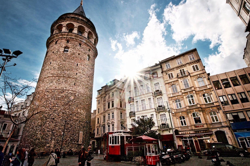 İstanbul'un Kutup Yıldızı;Galata Kulesi